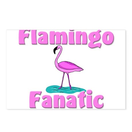 Flamingo Fanatic Postcards (Package of 8)