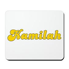 Retro Kamilah (Gold) Mousepad