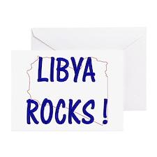 Libya Rocks ! Greeting Cards (Pk of 10)