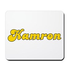 Retro Kamron (Gold) Mousepad