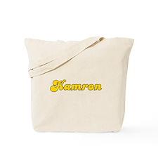 Retro Kamron (Gold) Tote Bag