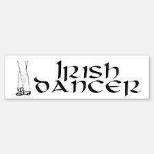 Classic Irish Dancer Bumper Bumper Bumper Sticker