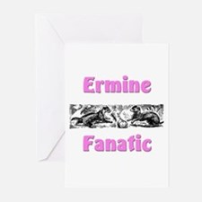Ermine Fanatic Greeting Cards (Pk of 10)