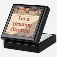 Grumpy Grampy Keepsake Box