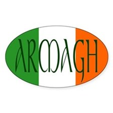 County Armagh Oval Decal