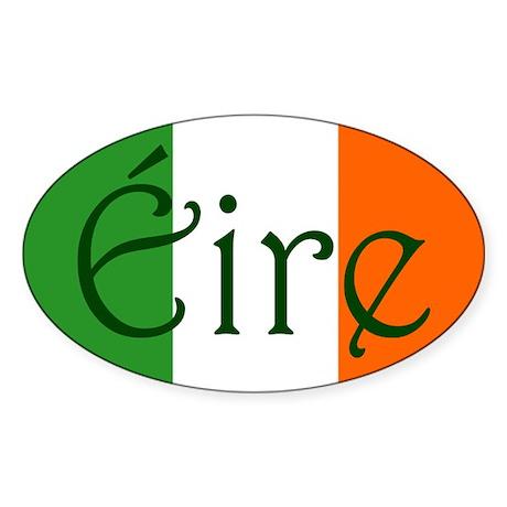 Éire (Ireland) Oval Sticker