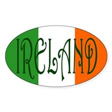 Ireland (Country) Oval Decal