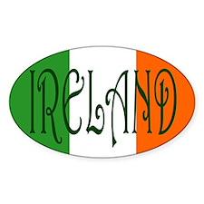 Ireland (Country) Oval Sticker (10 pk)