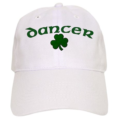 Irish Dancer Shamrock Baseball Cap