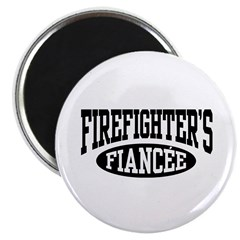 Firefighter's Fiancee Magnet