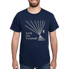 Silver Effect Text T-Shirt