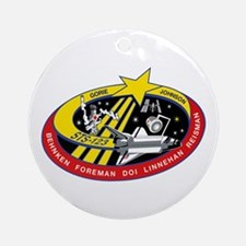 STS 123 Endeavour Ornament (Round)