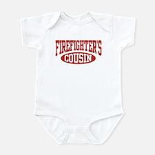Firefighter's Cousin Infant Bodysuit
