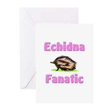 Echidna Fanatic Greeting Cards (Pk of 10)