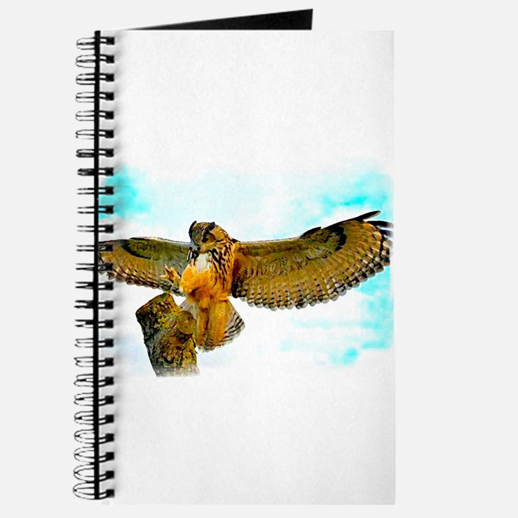 Cute Eagle personalized Journal