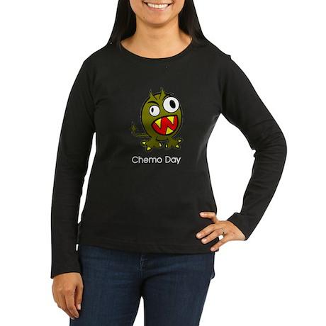 Chemo Day Women's Long Sleeve Dark T-Shirt