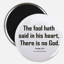 "Psalm 14:1 2.25"" Magnet (10 pack)"