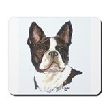 Boston terrier tile coasters Classic Mousepad
