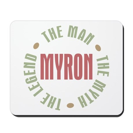 Myron Man Myth Legend Mousepad