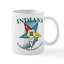 Indiana Eastern Star Small Mug
