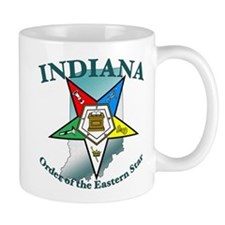 Indiana Eastern Star Small Mug