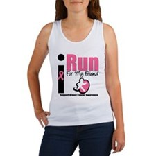 I Run For Breast Cancer Women's Tank Top
