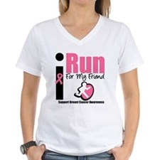 I Run For Breast Cancer Shirt