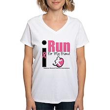 I Run For Breast Cancer Shirt