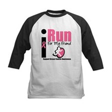 I Run For Breast Cancer Tee