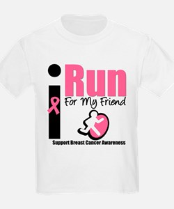 I Run For Breast Cancer T-Shirt