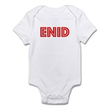 Retro Enid (Red) Infant Bodysuit