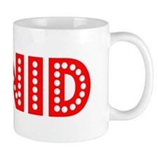 Retro Enid (Red) Mug