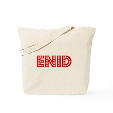 Retro Enid (Red) Tote Bag