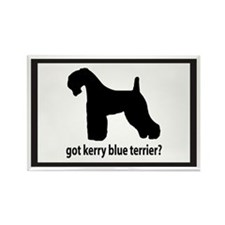 Got Kerry Blue Terrier? Rectangle Magnet