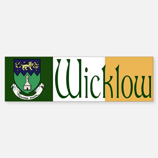 Wicklow Bumper Bumper Bumper Sticker
