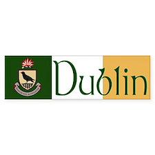 Dublin Bumper Car Sticker