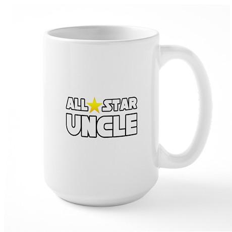 """All Star Uncle"" Large Mug"