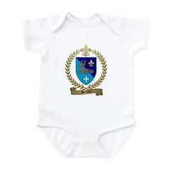 BEAUDET Family Crest Infant Creeper