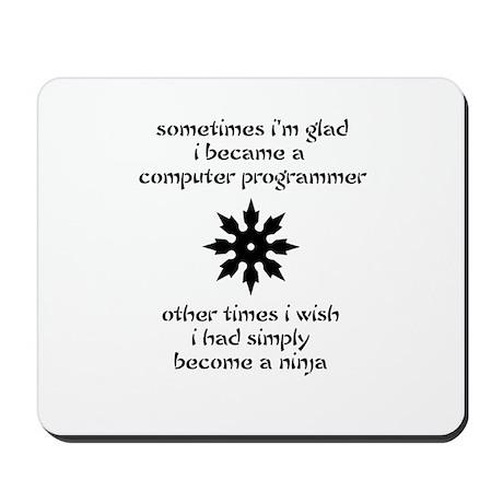 Computer Ninja Mousepad