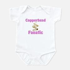 Copperhead Fanatic Infant Bodysuit