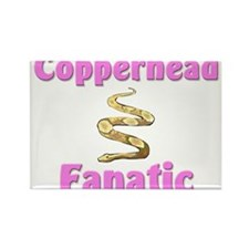 Copperhead Fanatic Rectangle Magnet
