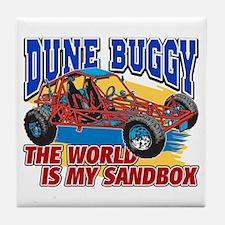 Dune Buggy Sandbox Tile Coaster