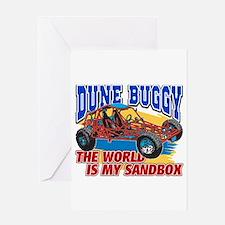Dune Buggy Sandbox Greeting Card
