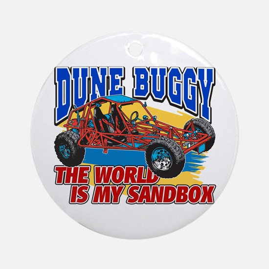Dune Buggy Sandbox Ornament (Round)