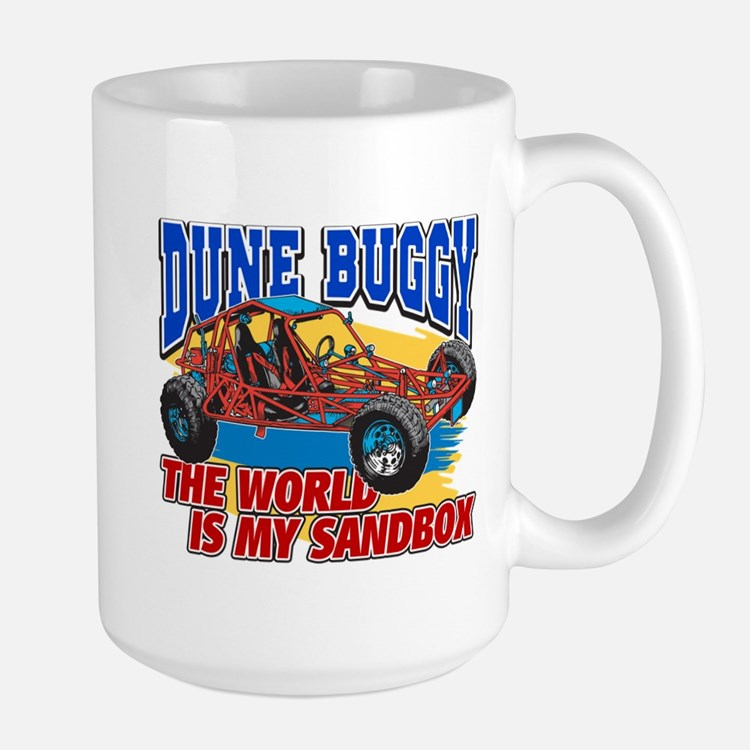 Dune Buggy Sandbox Large Mug