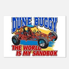 Dune Buggy Sandbox Postcards (Package of 8)