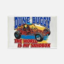 Dune Buggy Sandbox Rectangle Magnet