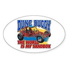 Dune Buggy Sandbox Bumper Stickers