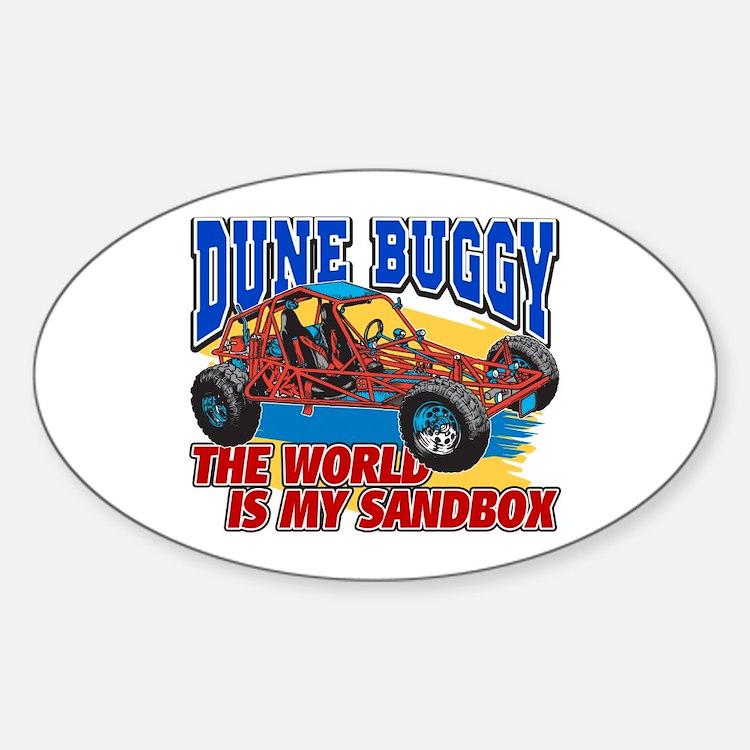 Dune Buggy Sandbox Bumper Stickers