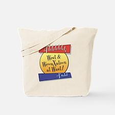 West... Tote Bag